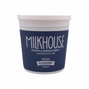 The Milkhouse Organic Whole Milk Blueberry Yogurt