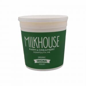 The Milkhouse Organic Whole Milk Plain Yogurt