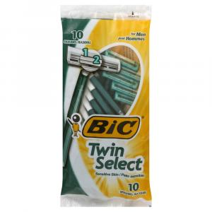 BIC Twin Select Disposable Men's Razors