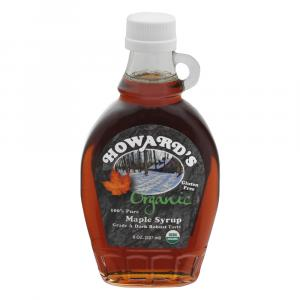 Howard's Organic Pure Maple Syrup