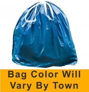 New Hampshire 15-Gallon Municipal Trash Bag