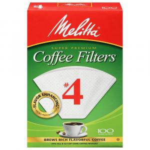 Melitta #4 Cone Coffee Filters