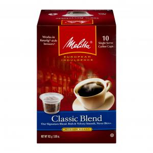 Melitta Classic Single Serve Coffee K-cups