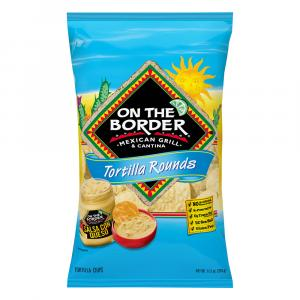 On the Border Round Tortilla Chips