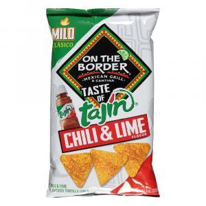 On The Border Tajin Chili & Lime Tortilla Chips