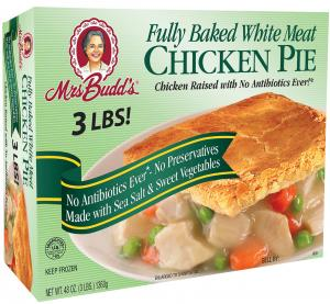 Mrs. Budd's Fully Baked White Meat Chicken Pie