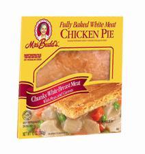 Mrs. Budd's Single Serving White Meat Chicken Pie