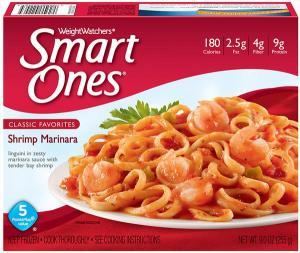 Weight Watchers Smart Ones Shrimp Marinara