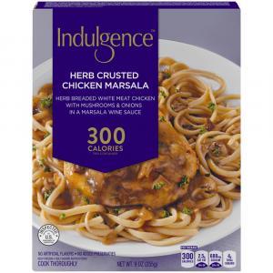 Indulgence Herb Crusted Chicken Marsala