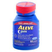 Aleve PM Easy Open Cap 220 mg Caplets