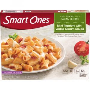 Smart Ones Mini Rigatoni W/vodka Cream Sauce