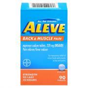 Aleve Back Muscle Tablets