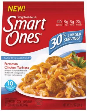 Weight Watchers Smart Ones Parmesan Chicken Marinara