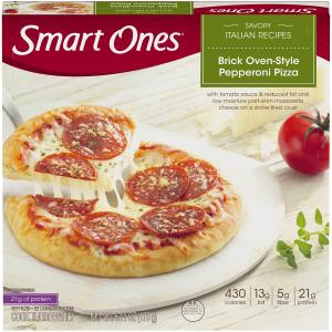 Smart Ones Stone Fired Pepperoni Pizza