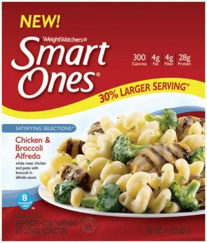 Weight Watchers Smart Ones Chicken & Broccoli Alfredo