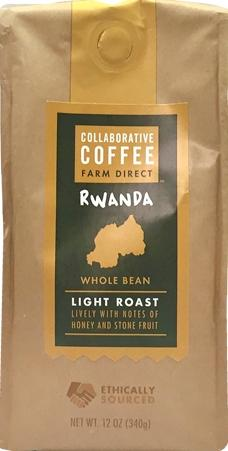 Collaborative Coffee Rwanda Whole Bean Light Roast