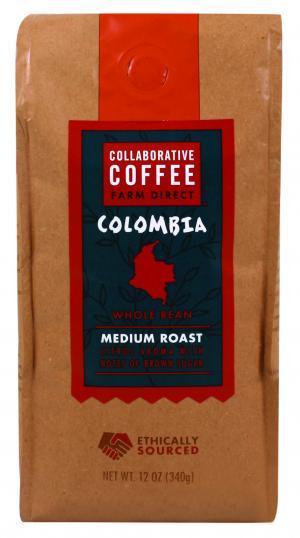 Collaborative Coffee Colombia Whole Bean Coffee