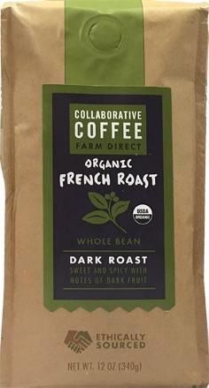 Collaborative Coffee Organic French Roast Whole Bean Coffee