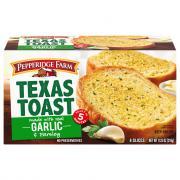 Pepperidge Farm Garlic Texas Toast