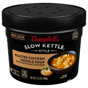 Campbell's Slow Kettle Roasted Chicken Noodle Soup with Herb