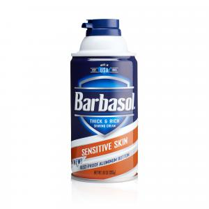 Barbasol Shaving Cream Sensitive Skin
