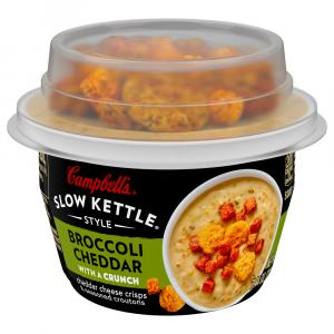 Campbell's Slow Kettle Style Broccoli Cheddar with a Crunch