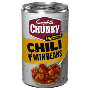 Campbell's Chunky Chili Red Hot Beef & Beans