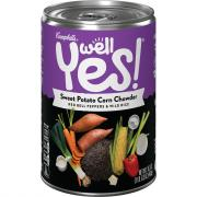 Campbell's Well Yes Sweet Potato Corn Chowder Soup