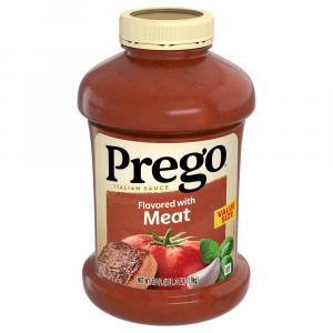 Prego Meat Sauce