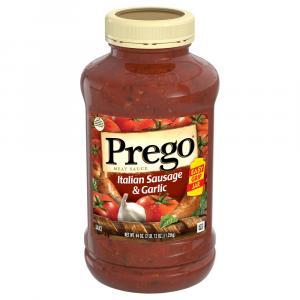 Prego Italian Sausage & Garlic Pasta Sauce