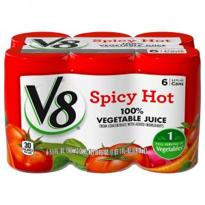 V8 Spicy Hot Vegetable Juice