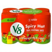 Campbell's V8 Spicy Hot Vegetable Juice