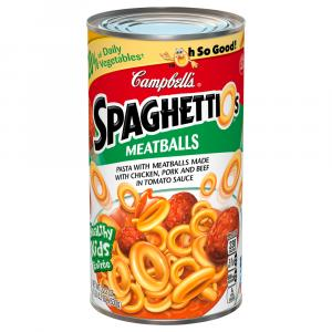 Campbell's SpaghettiO's with Meatballs