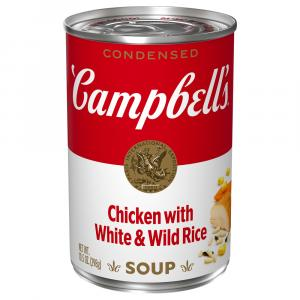 Campbell's Chicken w/White & Wild Rice Soup