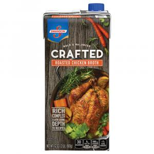 Swanson Crafted Roasted Chicken Broth