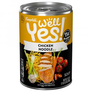 Campbell's Well Yes Chicken Noodle Soup