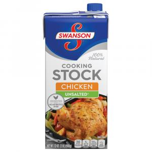 Swanson Unsalted Chicken Cooking Stock