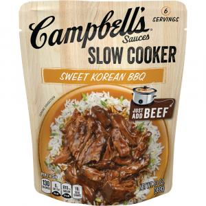 Campbell's Slow Cooked Sweet Korean Bbq
