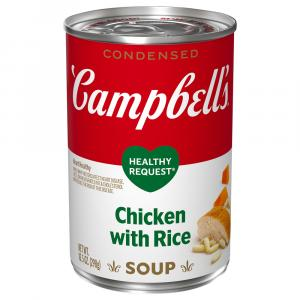 Campbell's Healthy Request Chicken & Rice Soup