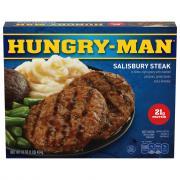 Swanson Hungry-Man Salisbury Steak
