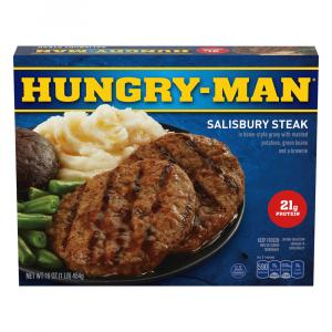 Swanson Hungry-Man Salisbury Steak
