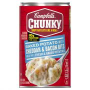 Campbell's Chunky Baked Potato w/Cheddar & Bacon Soup
