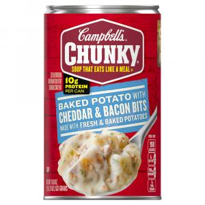 Campbell's Chunky Baked Potato w/Cheddar & Bacon Soup