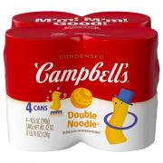 Campbell's Red & White Double Noodle Soup