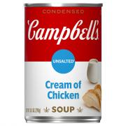 Campbell's Unsalted Cream of Chicken Soup