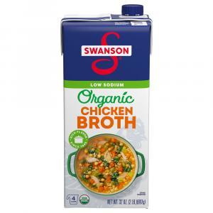 Swanson Organic Low Sodium Free-Range Chicken Broth