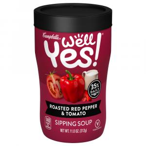 Campbell's Well Yes Roasted Red Pepper & Tomato Sipping Soup