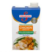 Swanson Aseptic Low Sodium Chicken Broth