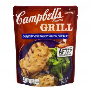 Campbell's Cheddar Applewood Bacon Chicken Grill Sauce