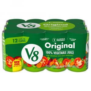 V8 Original 100% Vegetable Juice